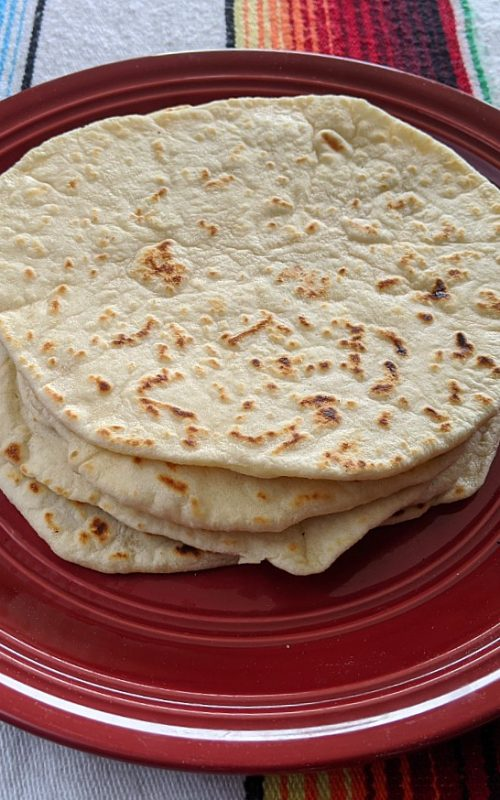 Homemade Flour Camping Tortillas