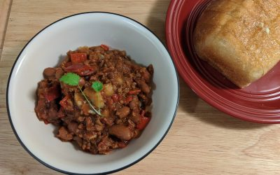 Dehydrated Backcountry Chili Sin Carne
